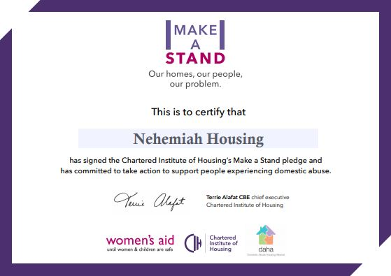 Make a Stand- We have signed the pledge